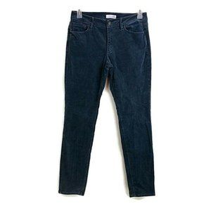 LOFT Blue Corduroy Skinny Pants RR11